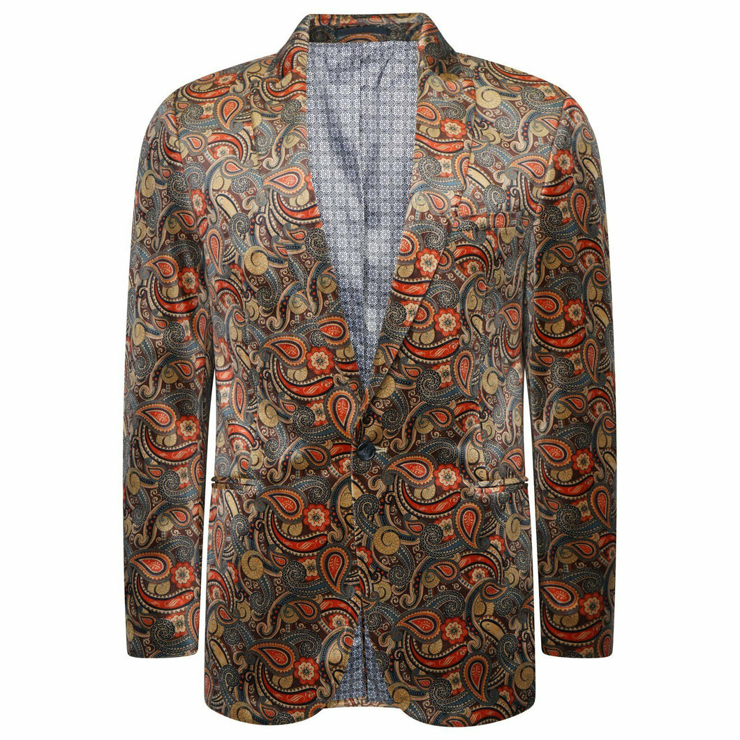 Harry Brown Party Blazer in Brown