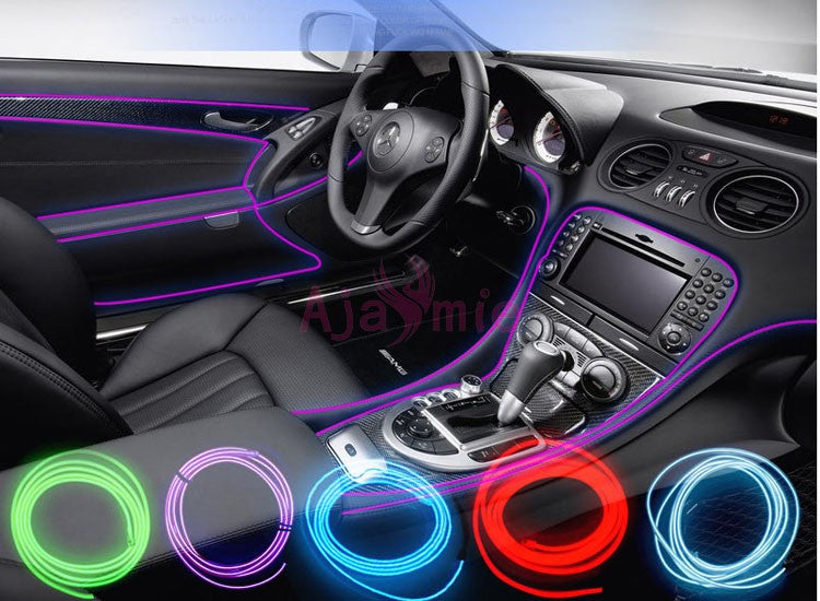 Led Strips Trims For Dashboard Door Edge