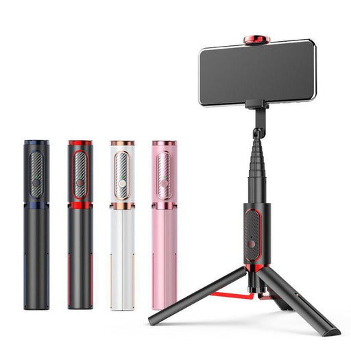 Compact Extendable Bluetooth Selfie Stick, with 360° Rotatable Design