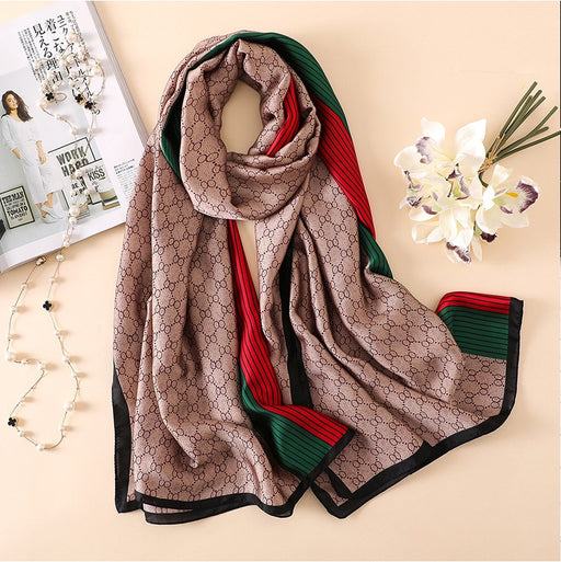 Brand Designer Silk Scarf High Quality