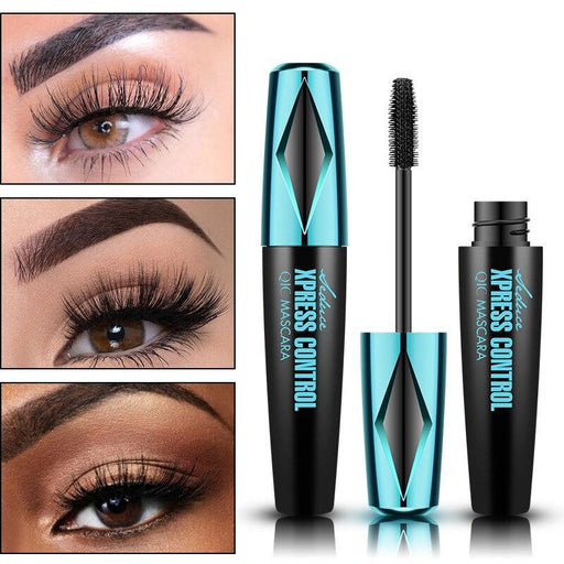 Waterproof Silk Fiber Thick Lengthening Mascara