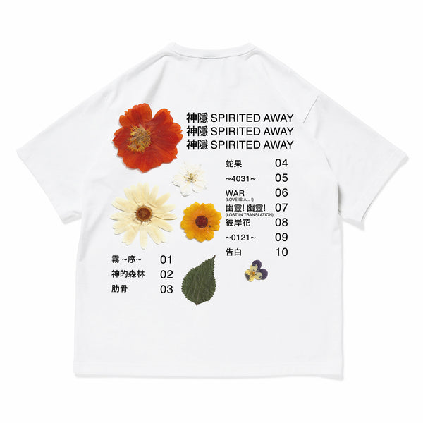 "神隱 Spirited Away - ""Flower"" T-shirt"