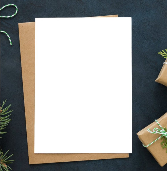 DIY Folded Holiday Card - The Business Box