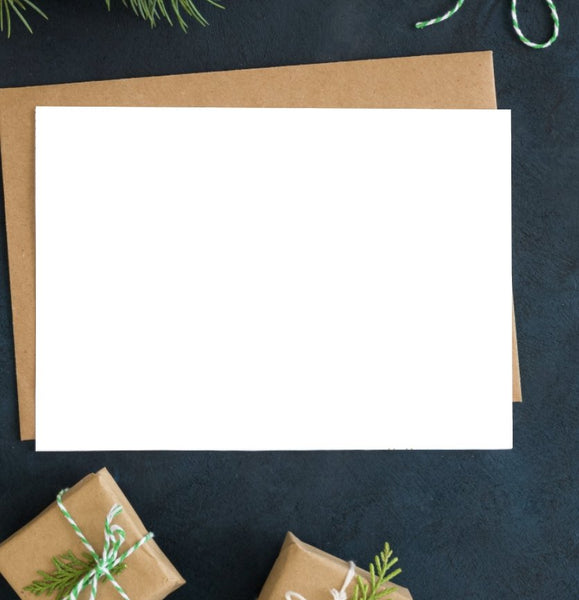 DIY Holiday Postcard | Double-sided Printing - The Business Box