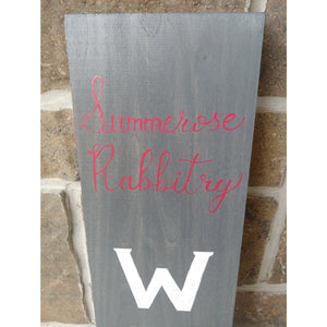 Welcome Wood Signs