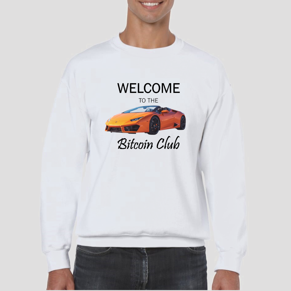 Bitcoin Club Sweatshirt - The Bitcoin Shop