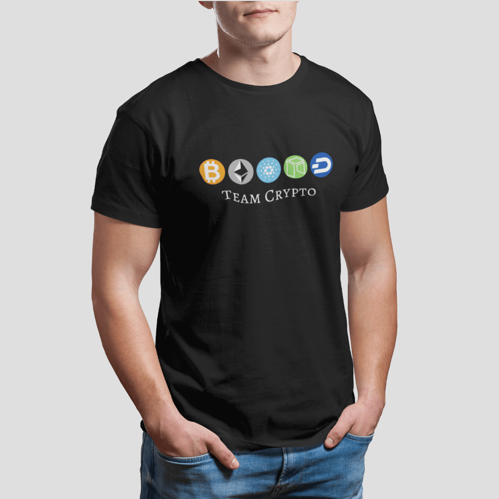 Team Crypto T-Shirt - The Bitcoin Shop