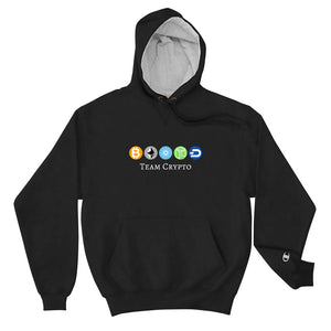 Team Crypto & Champion Hoodie Collaboration - The Bitcoin Shop