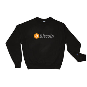 Bitcoin & Champion Sweatshirt Collaboration - The Bitcoin Shop