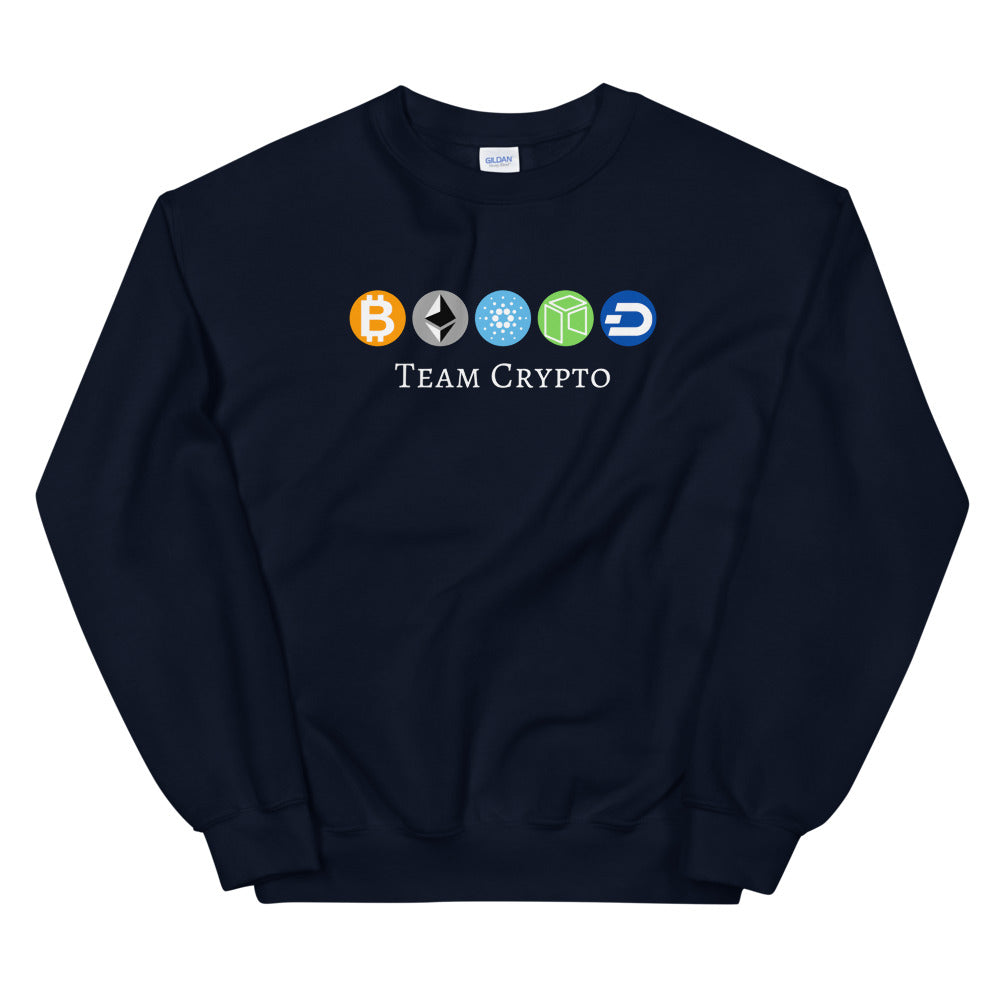 Team Crypto Sweatshirt - The Bitcoin Shop
