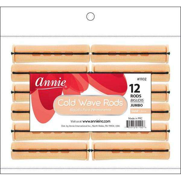 Annie Cold Wave Rod Jb 12Ct Sand
