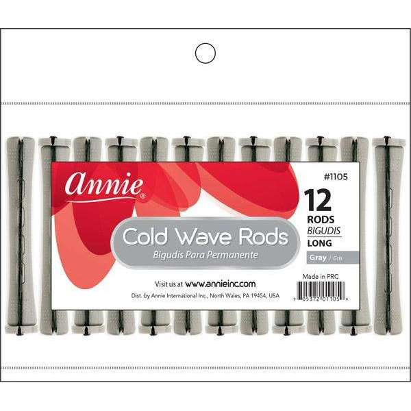 Annie Cold Wave Rod Long 12Ct Gray