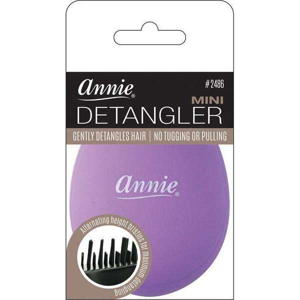 Annie Mini Detangler Brush Purple