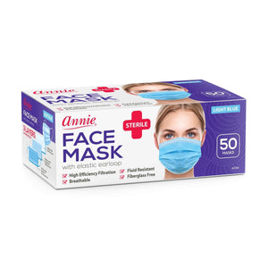 Load image into Gallery viewer, Annie Sterile Face Mask One Size 50ct