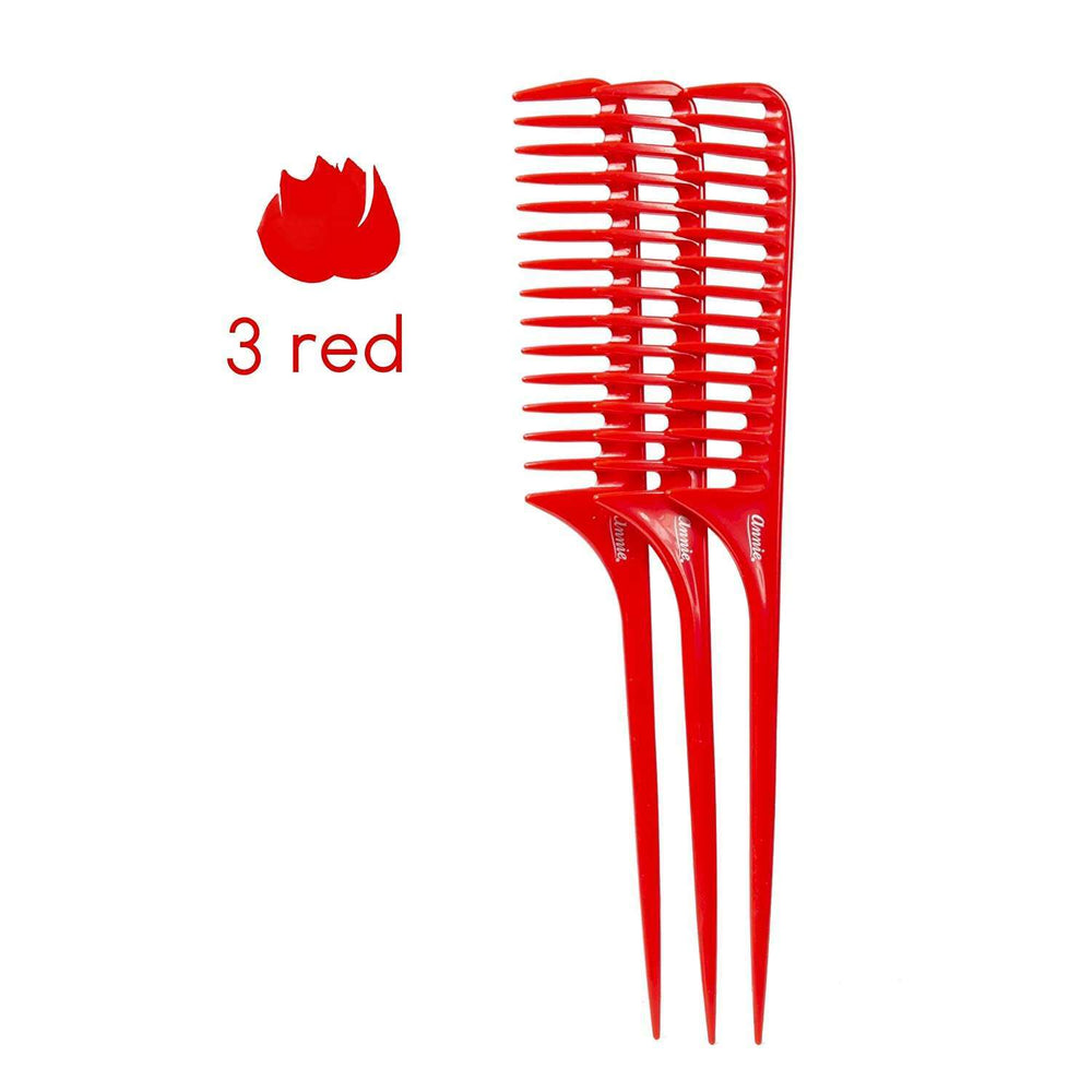 Load image into Gallery viewer, Annie Tail Comb Set L 12Ct Asst Color