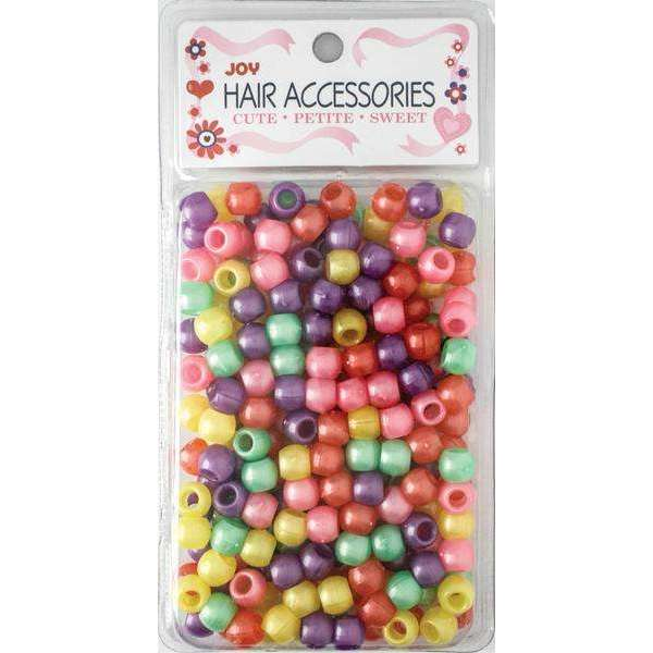 Joy Big Round Beads Large Size 240Ct Asst Color