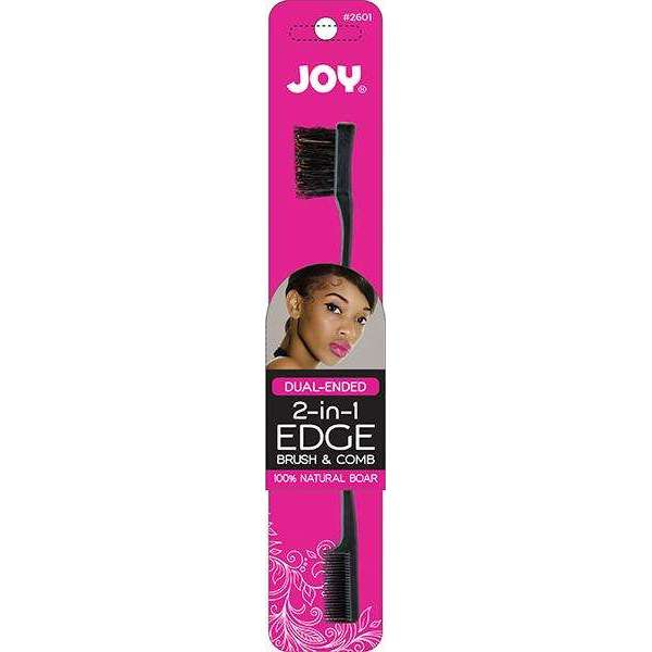 Joy Double-Sided Edge Brush and Comb Asst