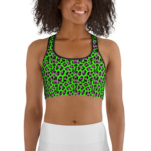 SMUT animal wild print Sports bra