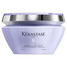 Load image into Gallery viewer, Kérastase Blonde Masque Ultra-Violet Purple Hair Mask 200ml
