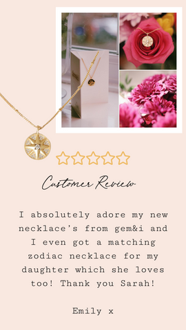compass cubic zirconia northern star gold plated necklace
