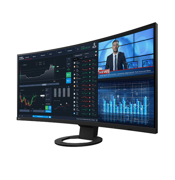 Eizo FlexScan EV3895FX-BK Curved Monitor Black