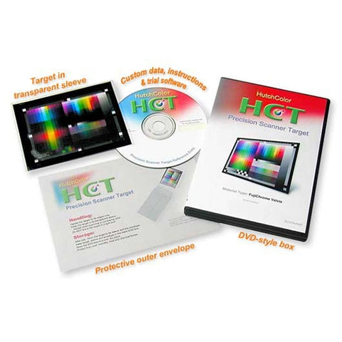 HutchColor HCT Target 6x7cm Ektachrome EOF Emulsion