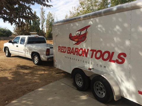Red Baron Tools Heading For A Trade Show
