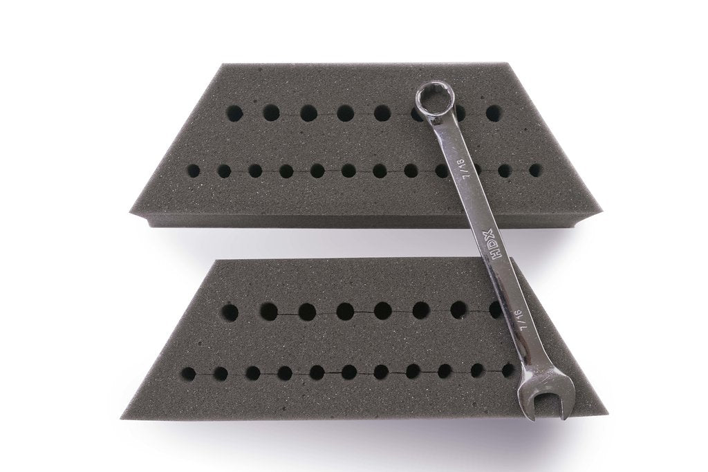2 Piece Foam Inserts for lower tier (1pair)