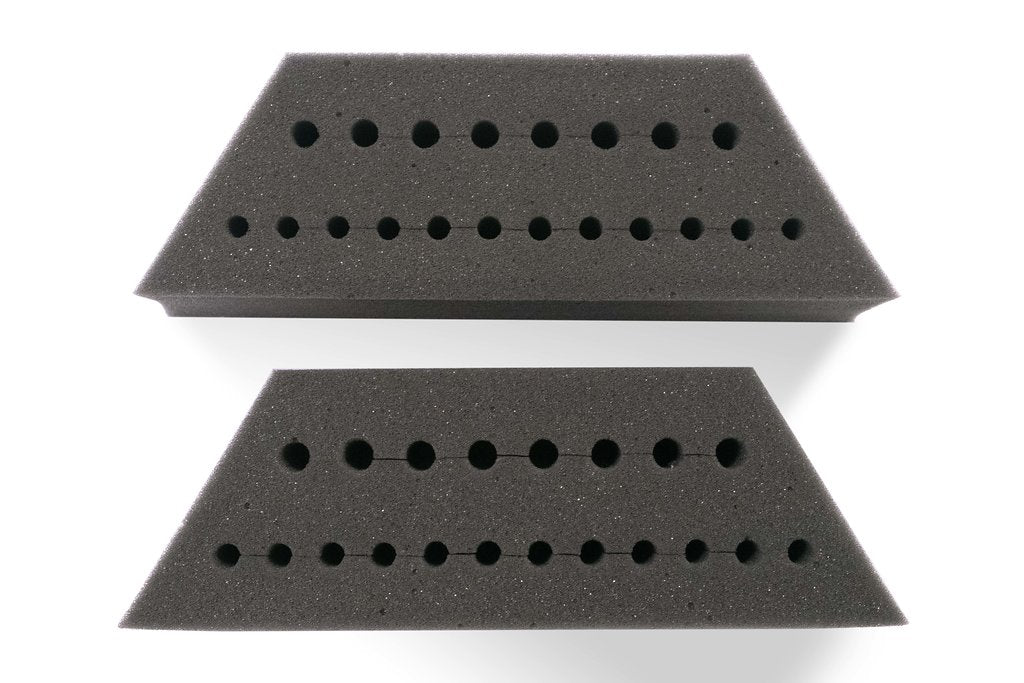 12 Piece Foam Inserts for lower tier (full set)