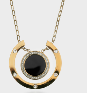 Momemntum Necklace by Queen and Collection