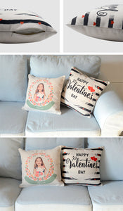 "Linen Cushion Cover 16"" x 16"" Blank for Sublimation pack of 5"
