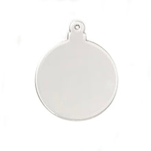 "Load image into Gallery viewer, Acrylic Round Clear Ornament 3"" Pack of 10"