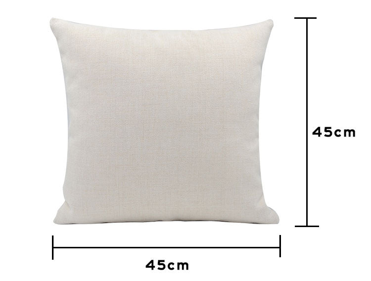 Linen Cushion Cover Blank for Sublimation pack of 5