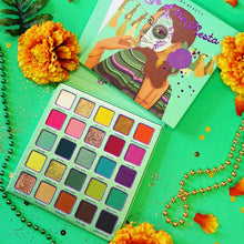 Load image into Gallery viewer, Life of the Fiesta Eyeshadow palette by Kara Beauty