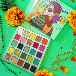 Life of the Fiesta Eyeshadow palette by Kara Beauty