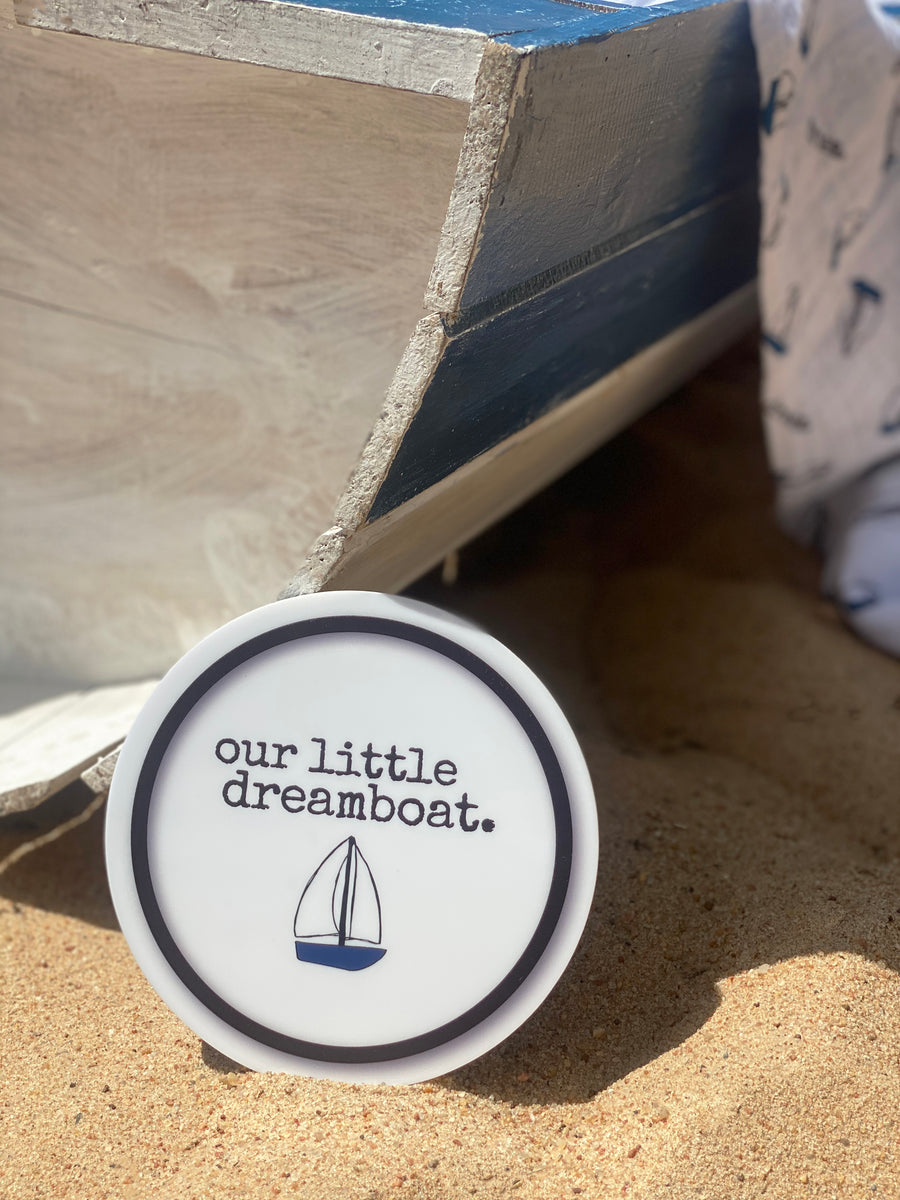 DREAMBOAT BIRTH ANNOUNCEMENT PLAQUES