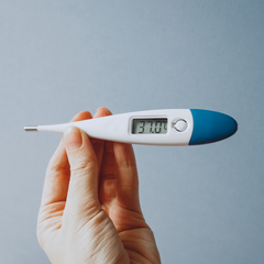 Basal body temperature (BBT) thermometer