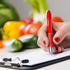 A nutritionist can help with PCOS