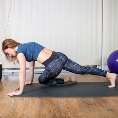 choose something like a core workout for your luteal phase
