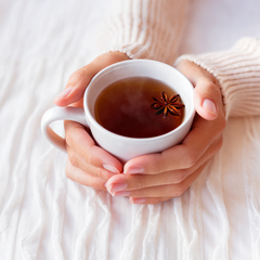 Teas and broths are a great way to add more nutrients to your diet while staying hydrated