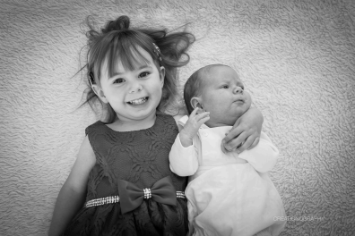 Two babies who came after a struggle with infertility