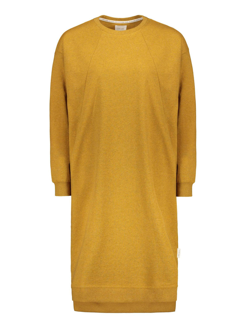 HELISEVÄ DRESS, MUSTARD