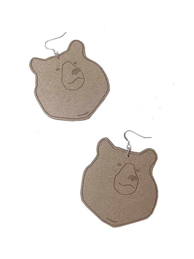 BEAR MAXI EARRINGS