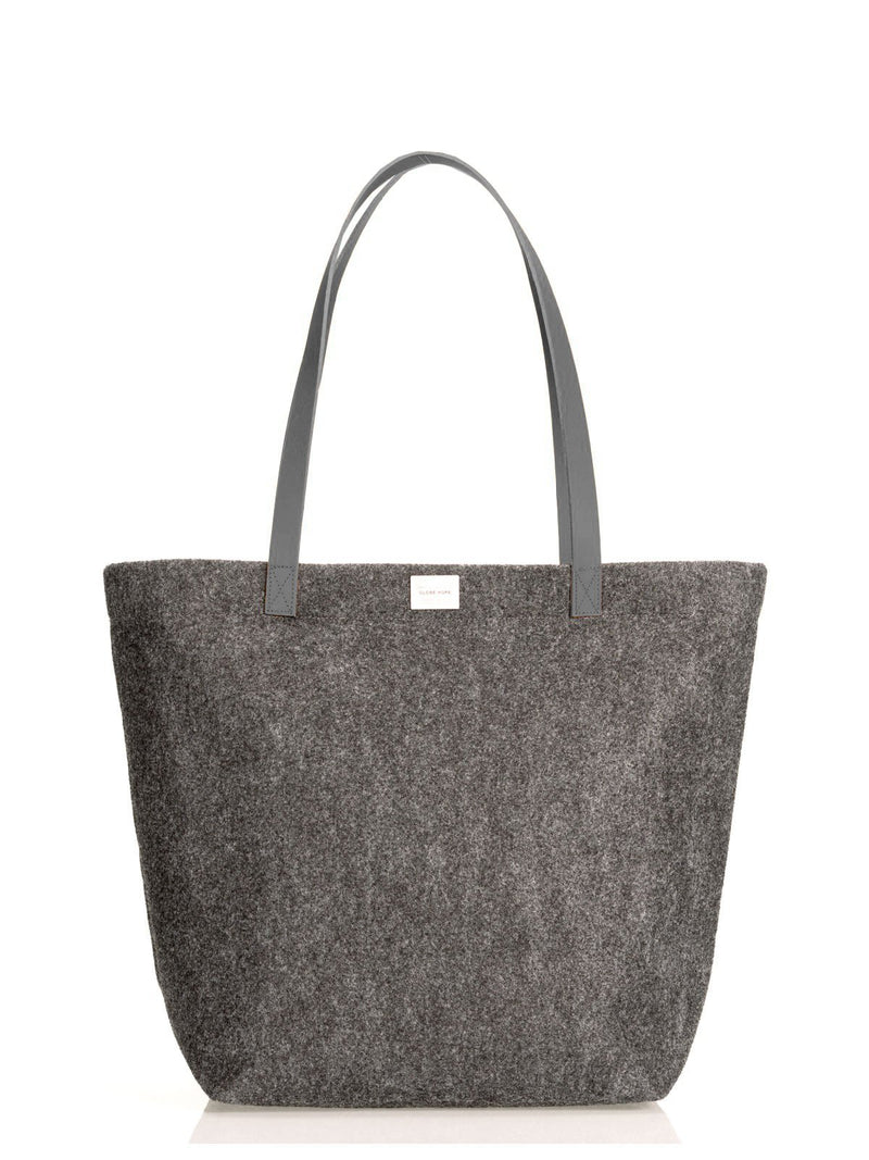 HUURRE LUX TOTE BAG, DARK GREY