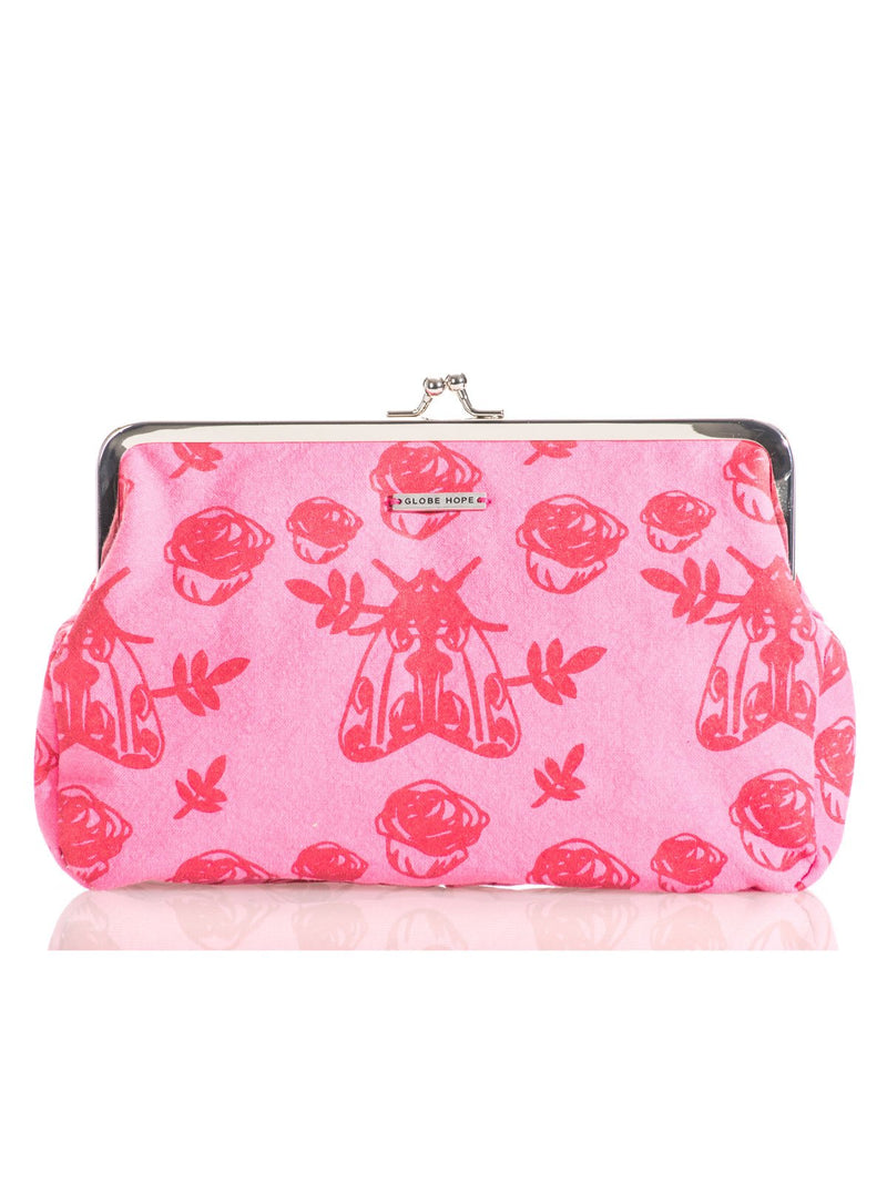 LUMI PURSE, PINK MOTH