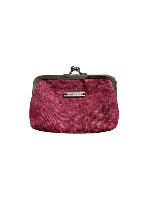 TUULI PURSE, RASPBERRY RED