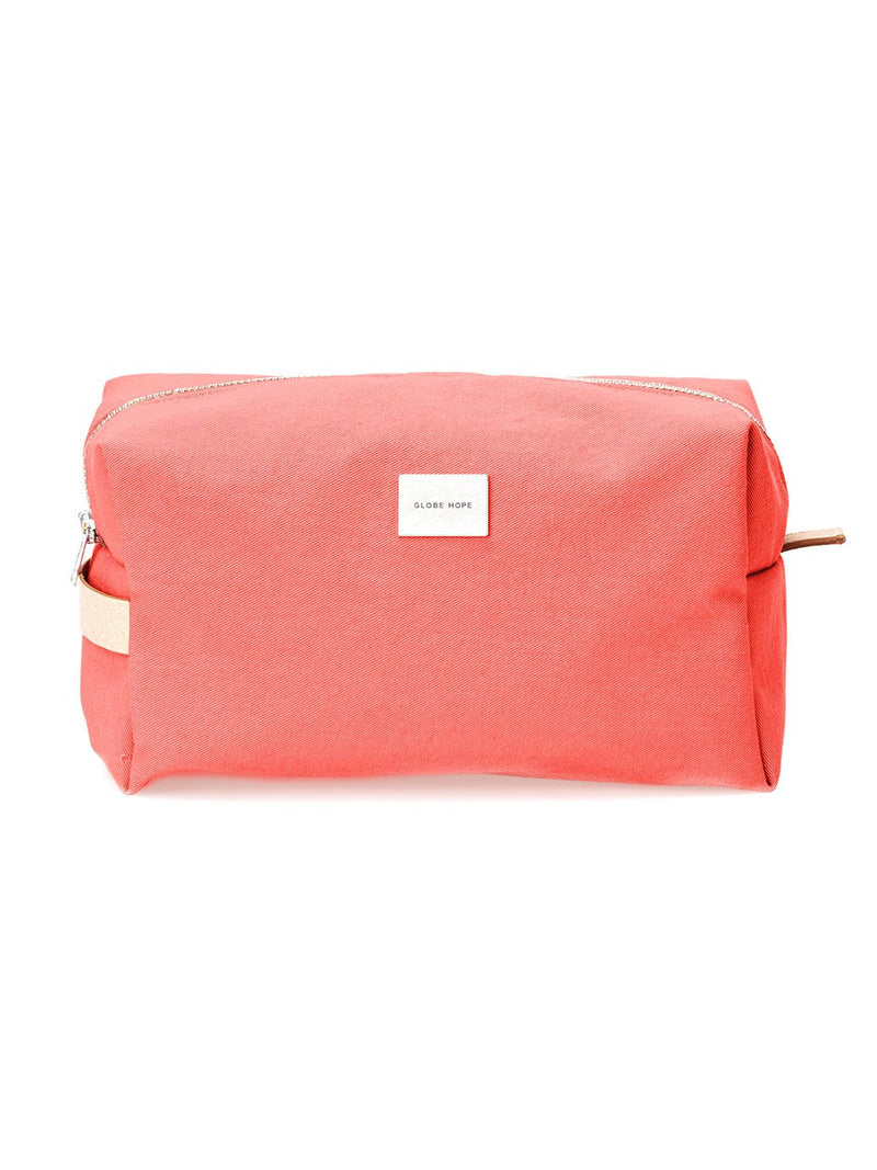 ROUTA MAXI LUX-TOILETRY BAG, CORAL