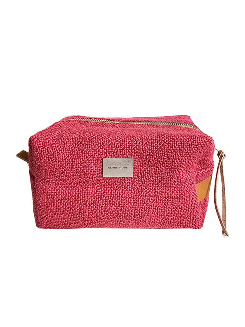 ROUTA TOILETRY BAG, RASPBERRY RED