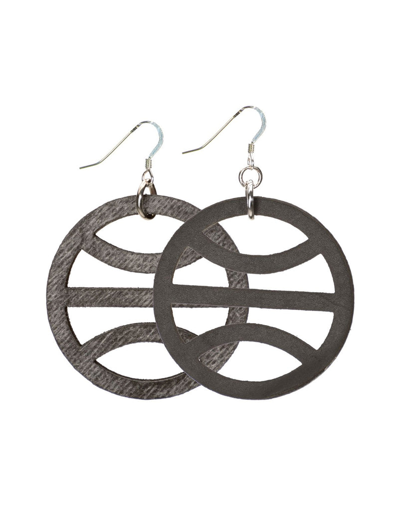 TERRA EARRINGS, BLACK