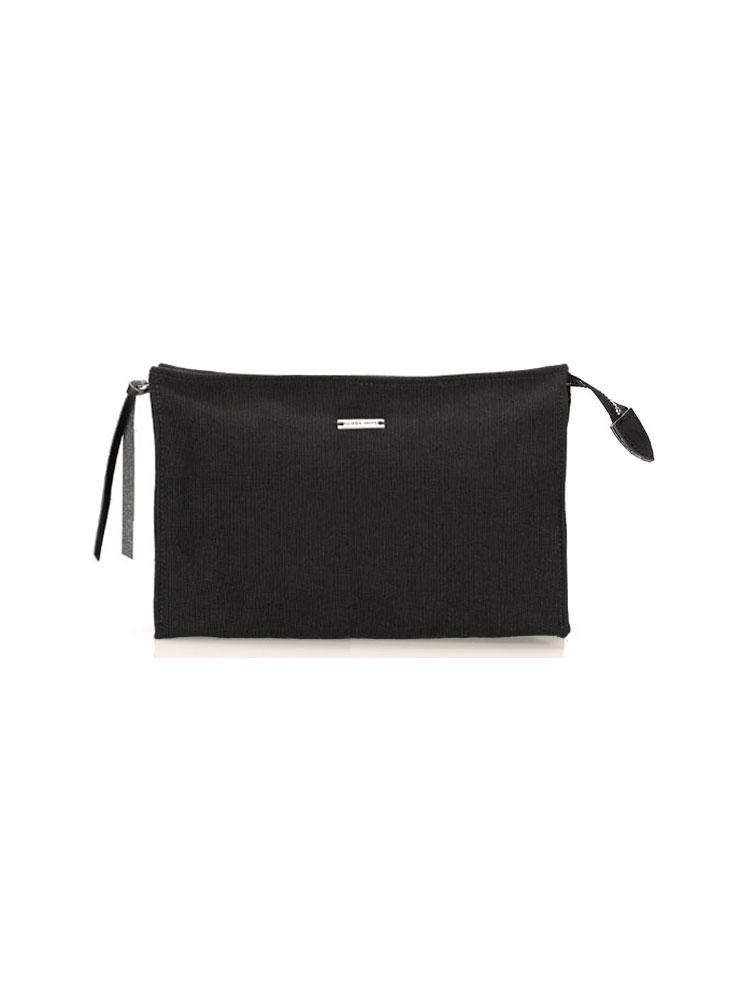 AAMU MINI TOILETRY BAG, BLACK
